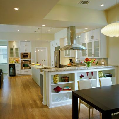 Kitchen half wall Design Ideas Pictures Remodel and