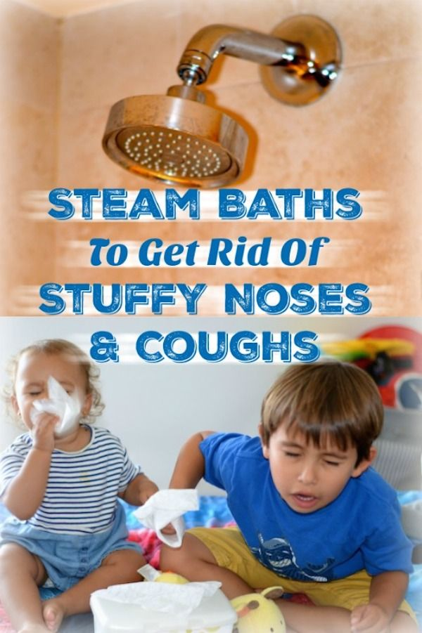 Steam Baths To Get Rid Of Stuffy Noses And Coughs ...