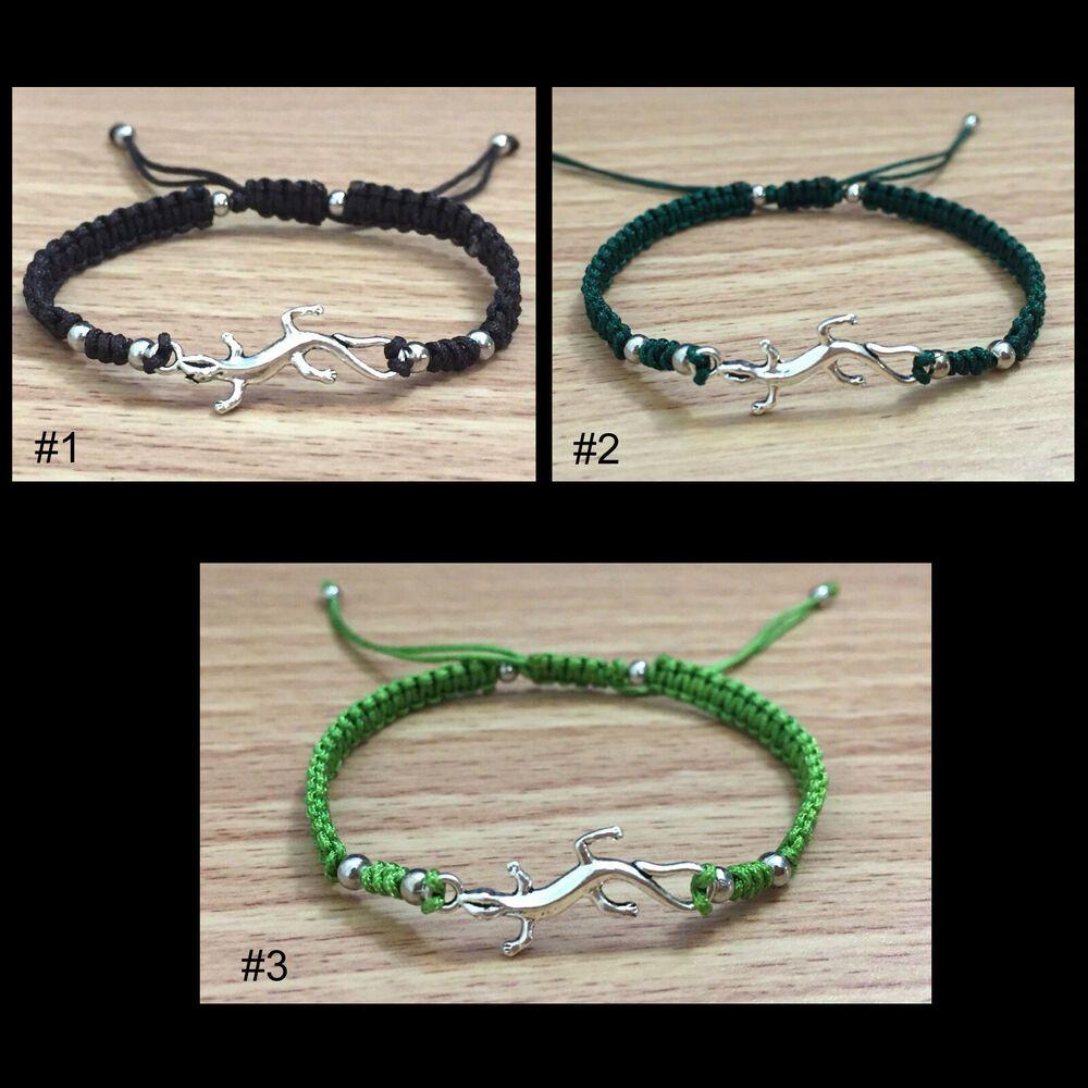 red rhinestone crystal silver Lizard cuff bracelet bangle charm fashion jewelry
