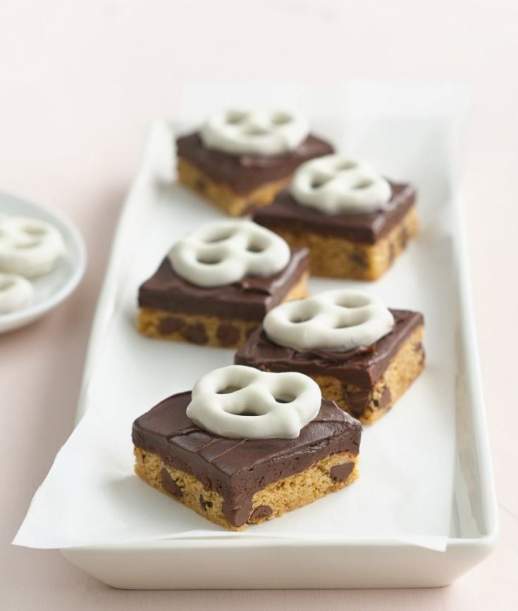 Chocolate Chip Truffle Bars Recipe Desserts Dessert Bars