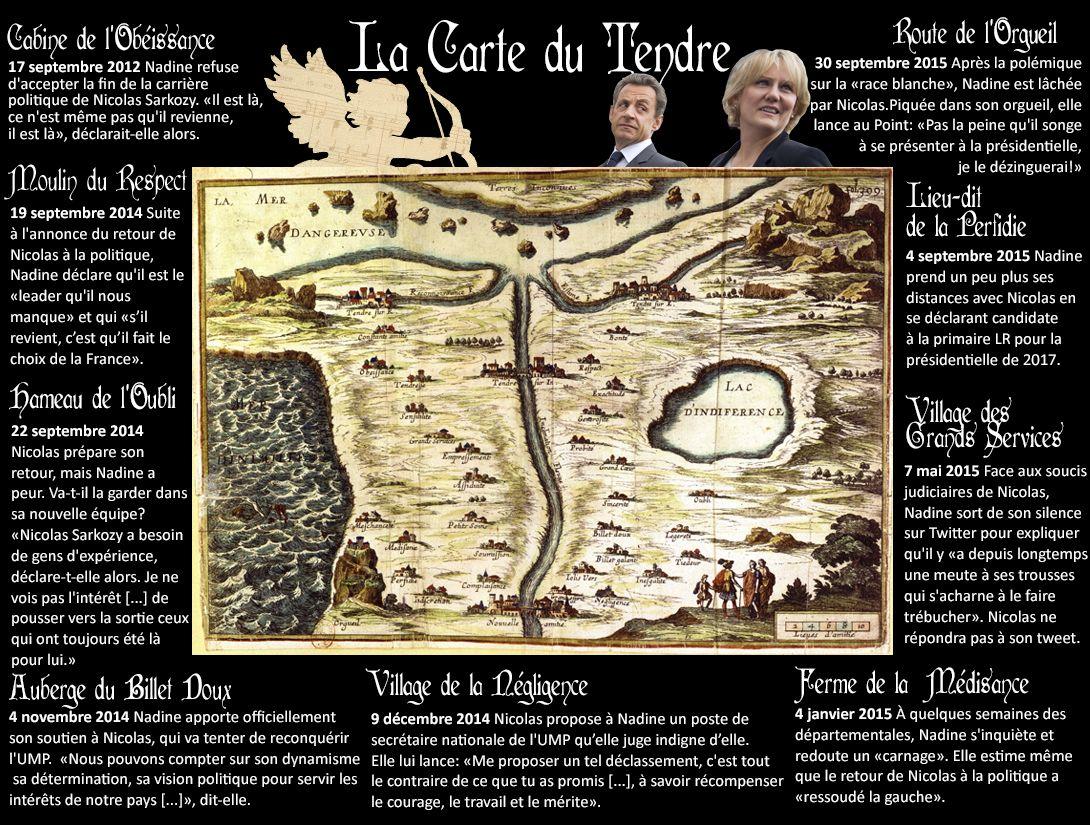 La Carte Du Tendre De Nadine Morano Et Nicolas Sarkozy Movie