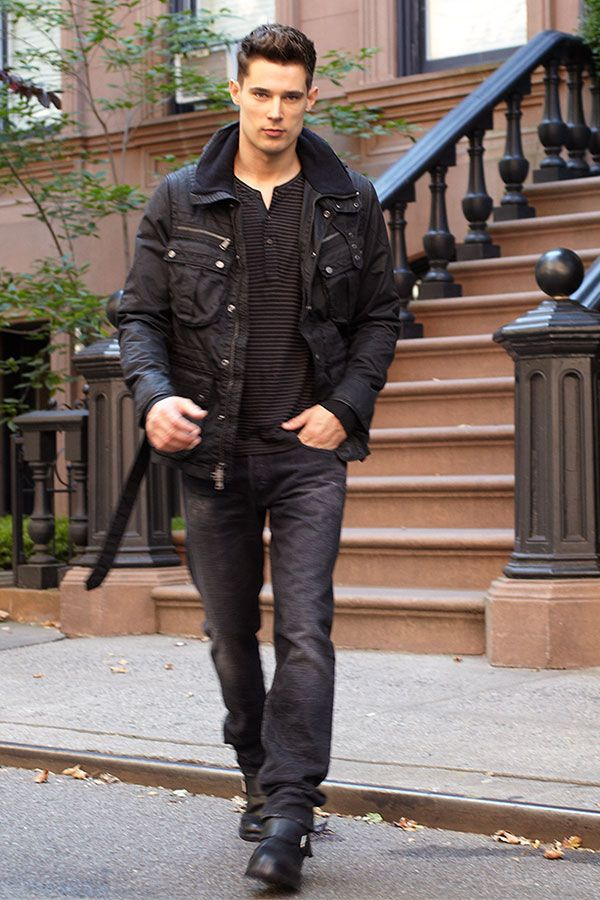 fd30a1a31f Danny Schwarz in Ralph Lauren Black Label. Casual men's style. Danny  Schwarz, Sharp