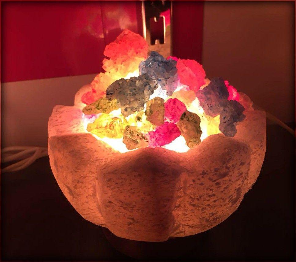 هل تعاني من الارق الحساسية وآثار الجيوب الأنفية الصداع او الصداع النصفي يمكنك التخلص من هذه الامراض بإضاءة مصباح ملح صخري فضلا عن Novelty Lamp Lamp Novelty