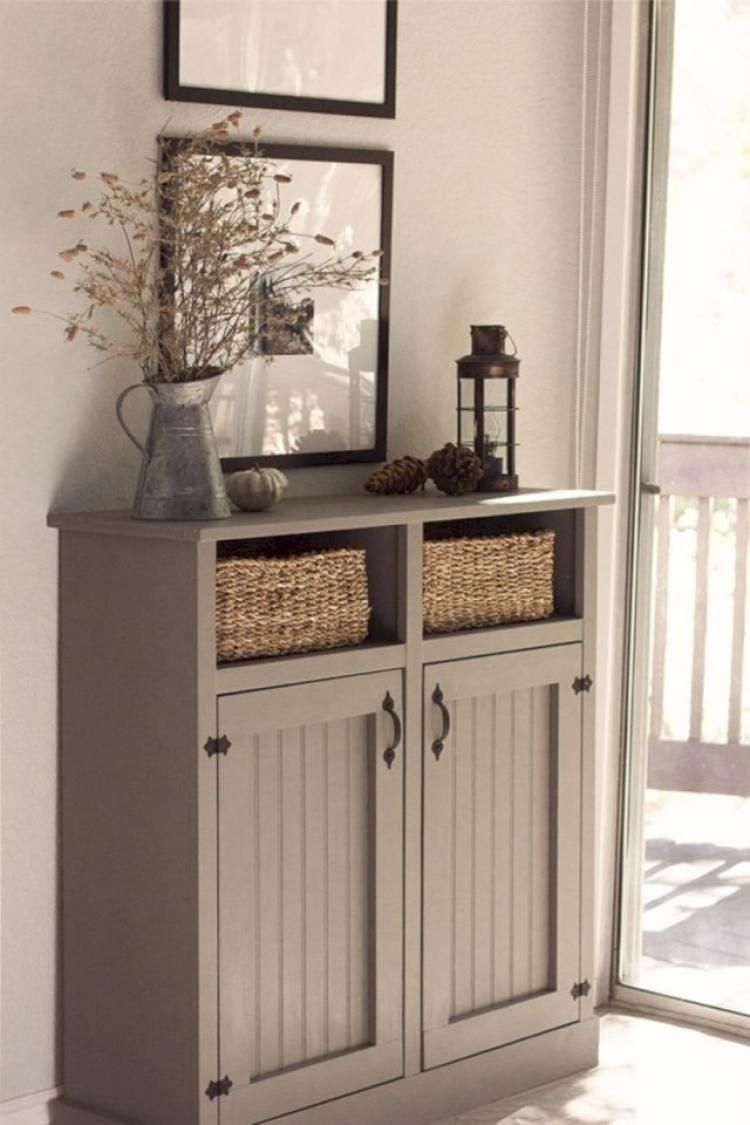 Fabulous Foyer Decorating Ideas: Fabulous Small Entryway Cabinet Design Ideas