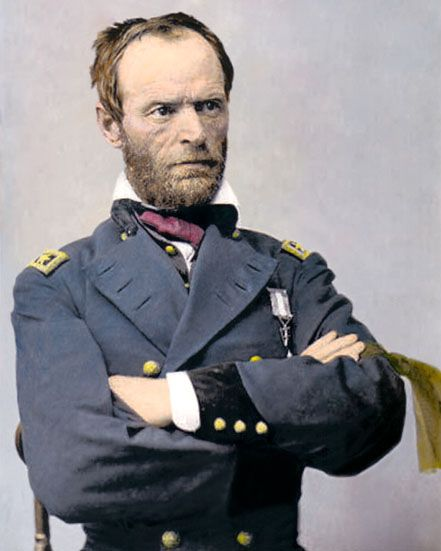 a biography of william tecumseh sherman an american soldier William tecumseh sherman, james lee mcdonough's latest work is a comprehensive look at an american military icon, civil war general william sherman signed.