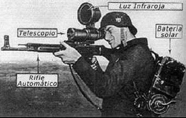 """Vampir"" night vision scope"