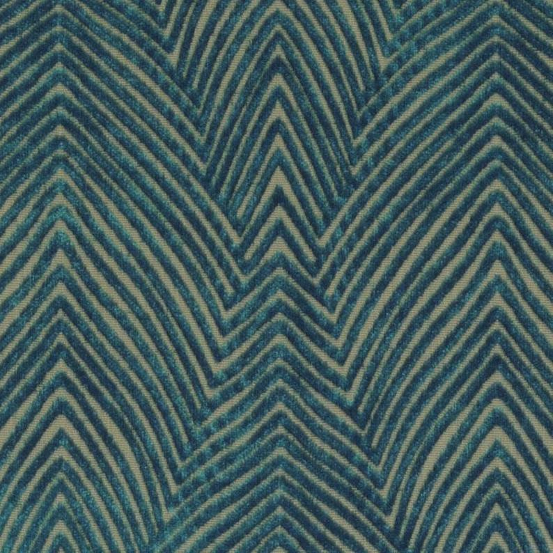 Modern Dark Teal Velvet Upholstery Fabric for Furniture - Textured Teal Blue Velvet Throw Pillows - Contemporary Teal Velvet for Furniture #velvetupholsteryfabric