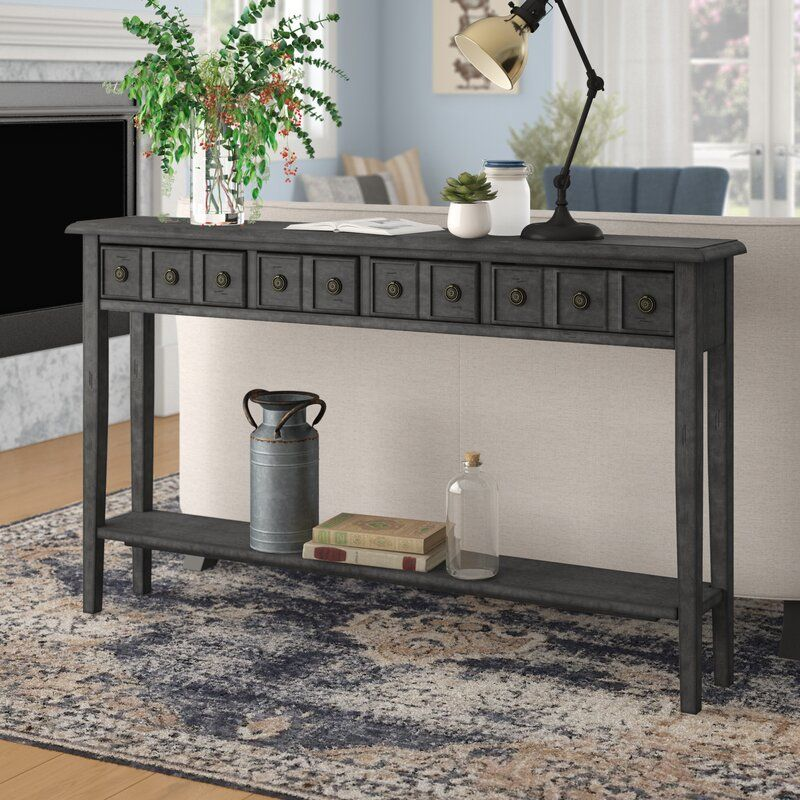Elvira 60 Console Table In 2020 Console Table Wooden Console Table Table