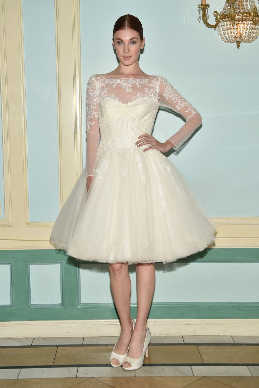 Truly Zac Posen Bridal Spring 2016 Zac Posen Bridal Wedding Dress Trends Bridal Accesories [ jpg ]