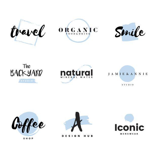 Colección de logos y vector de branding  Free Vector