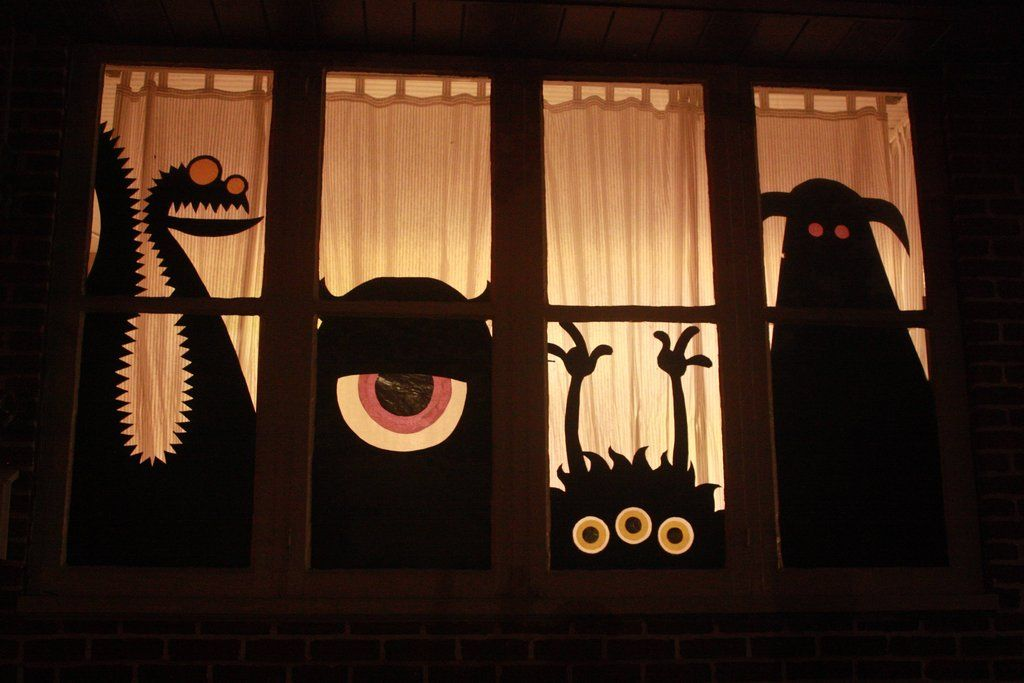 Imgur Fall Halloween Decor Halloween Window Decorations Halloween Window