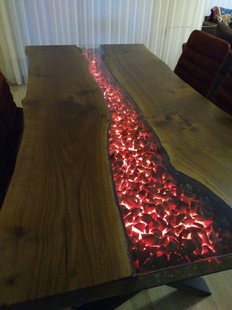 Epoxyresin Epoxytable Epoxy Wood Table Design Resin