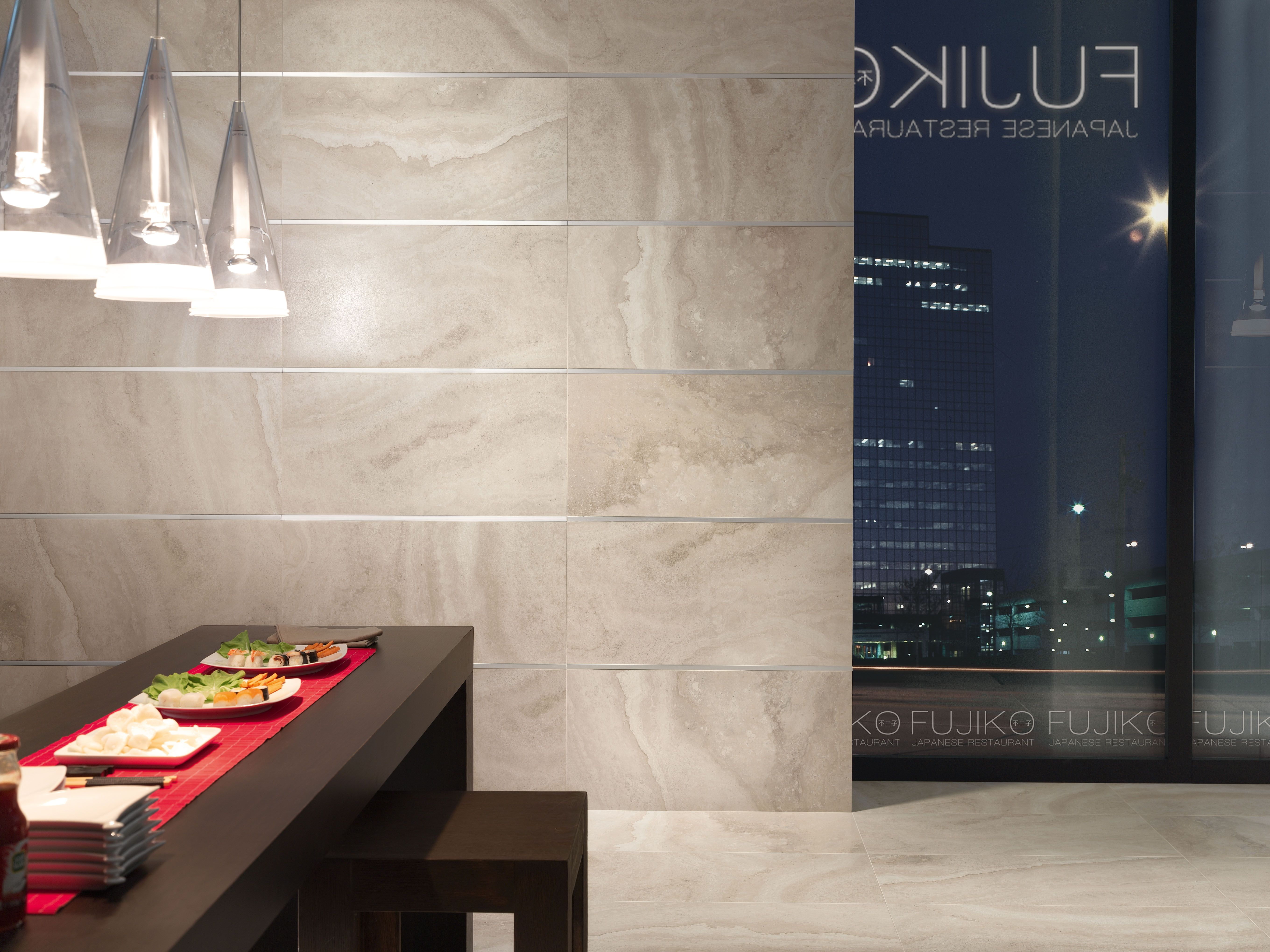 vallelunga caracalla sabbia | travertine look tile | available at