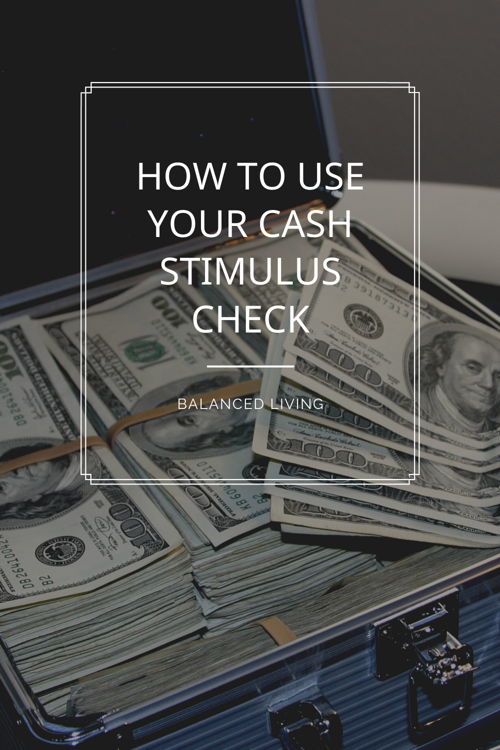 How To Use Your Cash Stimulus Check In 2020 Personal Finance Budget Check And Balance Finance Saving