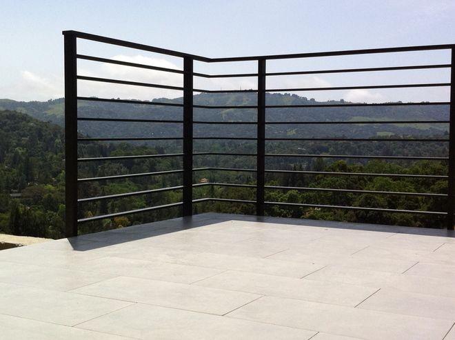 Deck Rail Modern Deck Railing Systems Balcony Railing Design