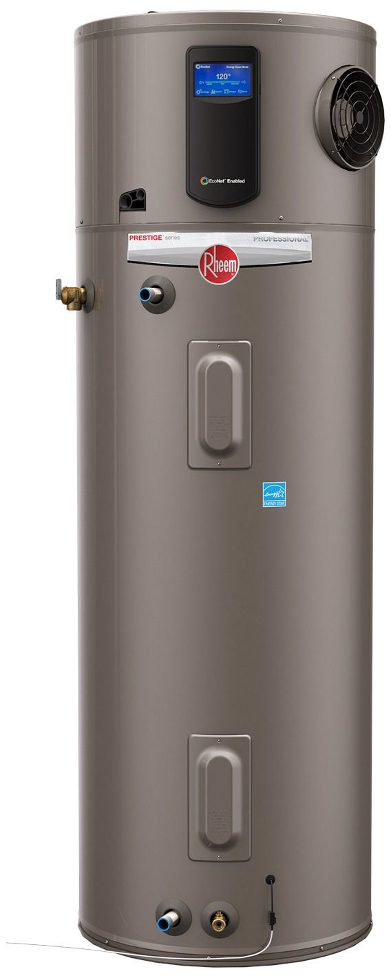 Rheem Hpwh Pro Series Electric Water Heater Water Heater Hybrid Water Heaters