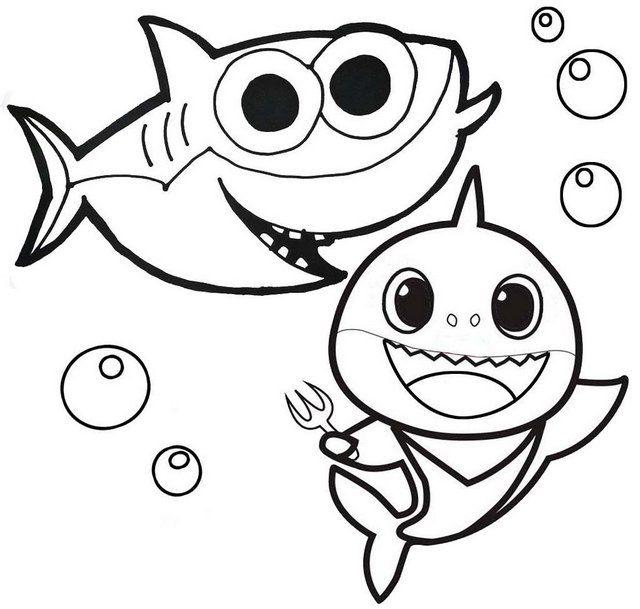 12 Best Baby Shark Pinkfong Coloring Sheets For Children Desenhos Infantis Para Pintar Imprimir Desenhos Para Pintar Colorir