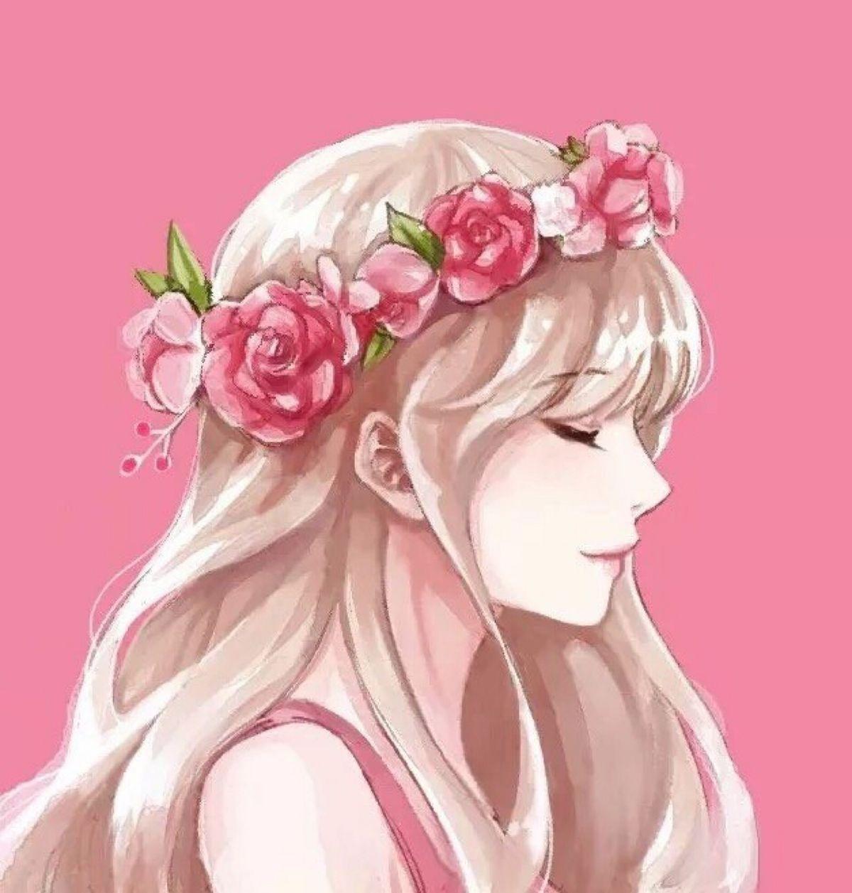 {title} (Dengan gambar) Lukisan wajah, Seni anime, Gadis