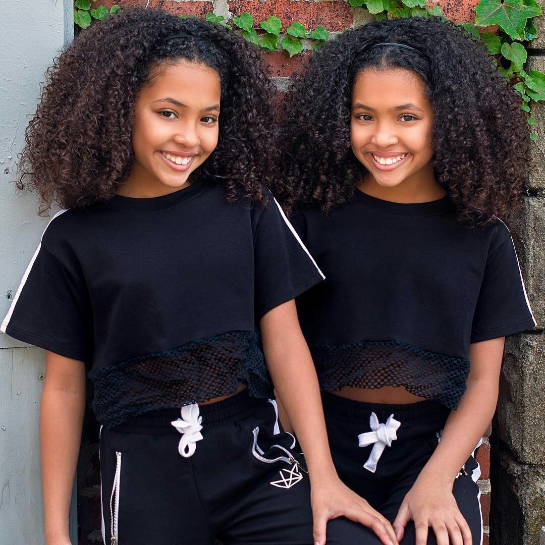 Thugs Can Love Beautiful Black Babies Cute Kids Fashion Curly Hair Styles