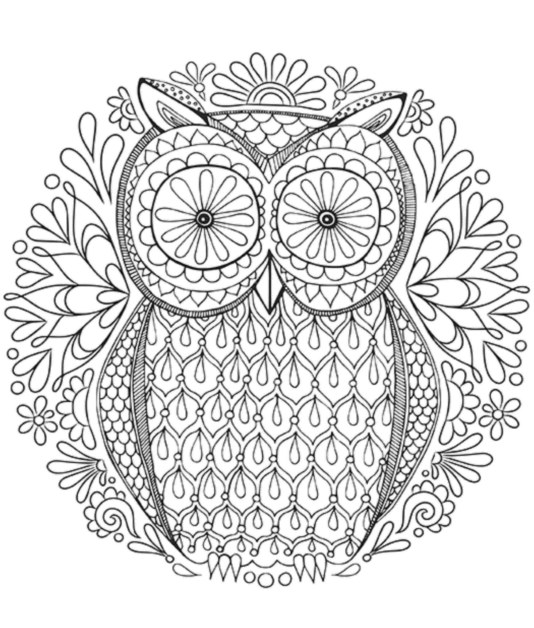 48++ Cute kawaii owl coloring pages inspirations