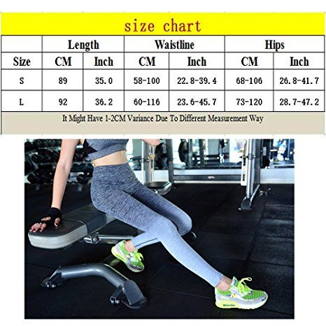 Laixing 4 Color Women's Sports Pants Yoga Ghette Workout Pant Running Pant: Amazon.it: Abbigliamento
