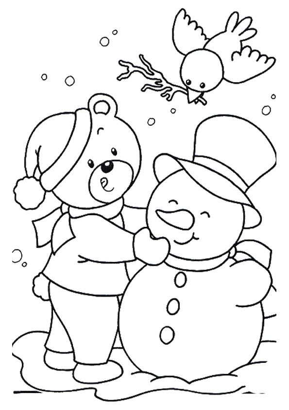 Top 10 January Coloring Pages Your Toddler Will Love To ...