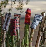 Landlust Stulpen Mit Daumen Crochet Knitting Pinterest