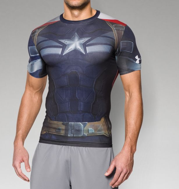 379630392d92c Men s Under Armour® Captain America Compression Shirt