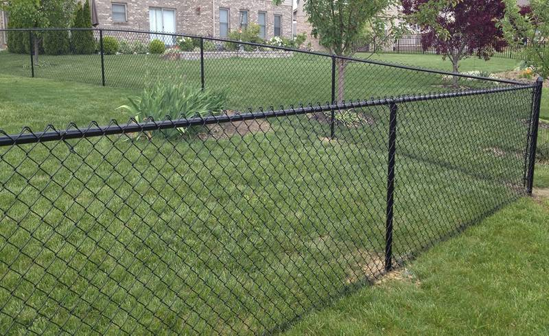 Black Vinyl Coated Chain Link Fence Most Popular In Usa In 2020
