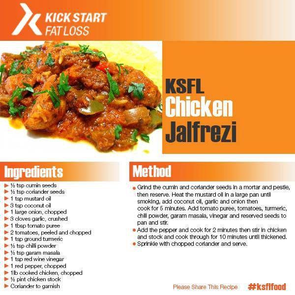 This weeks KSFL recipe #pilatescourses
