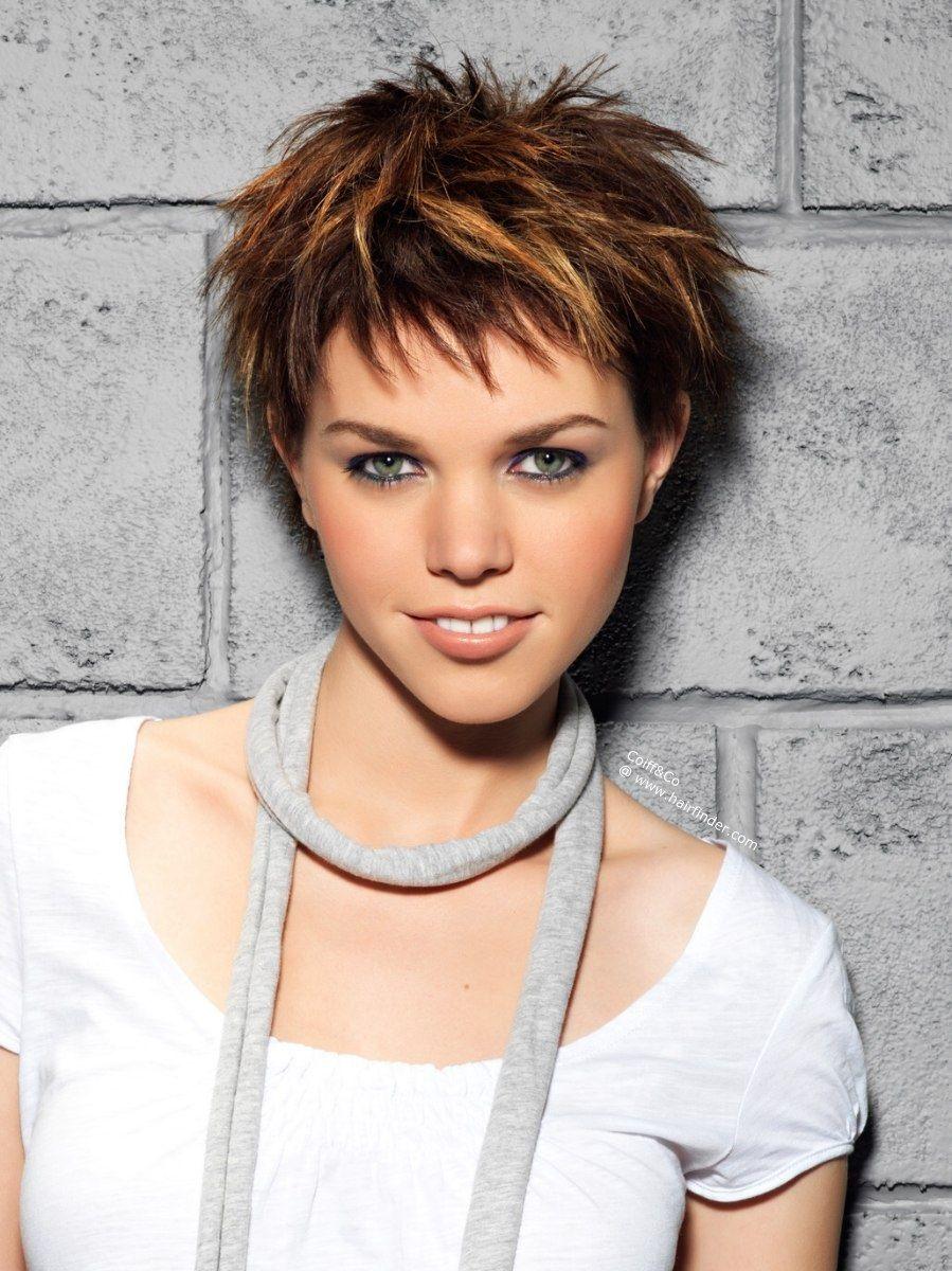 style a pixie for the spiky look | hair | short choppy