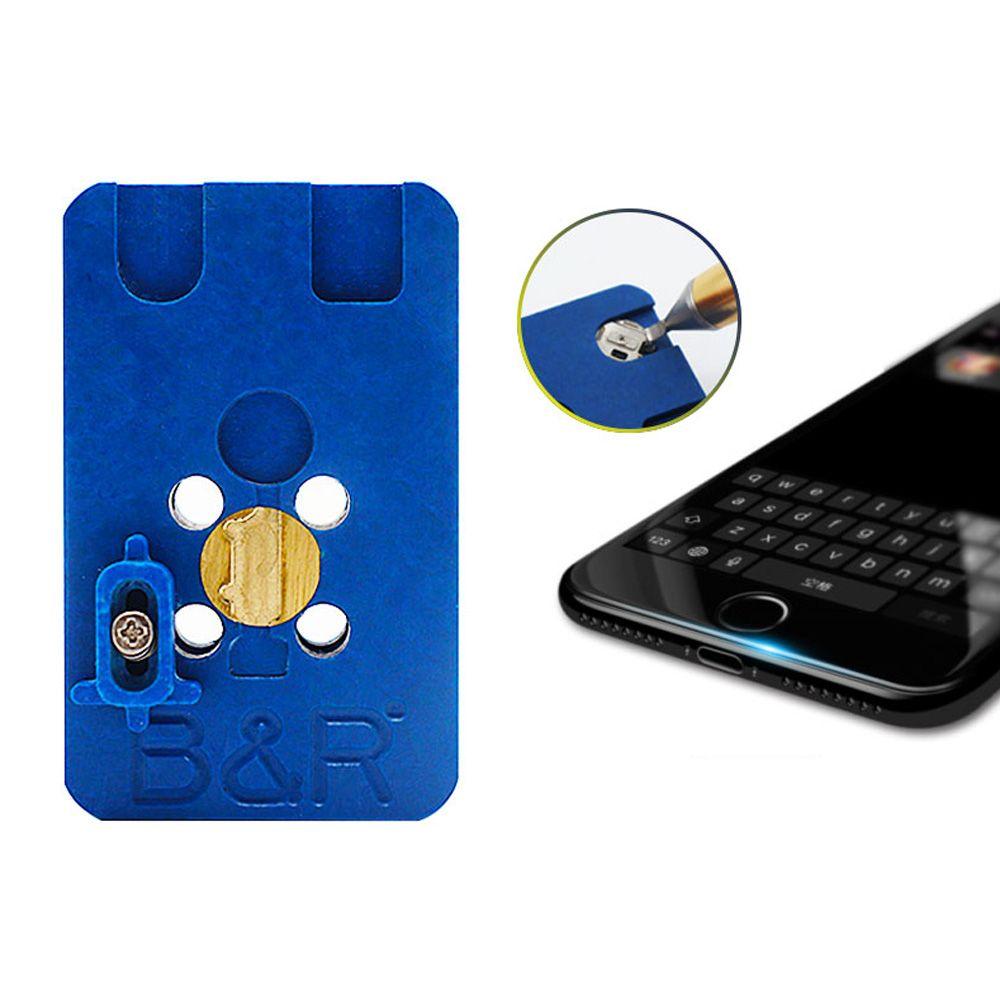 Fingerprint heating platform return home button repair
