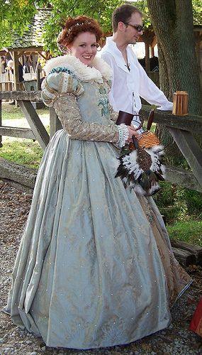 light blue pretty renaissance dress/gown by Ƹ̵̡Ӝ̵̨̄Ʒ Ƹ̵̡Ӝ̵̨̄Ʒ Ƹ̵̡Ӝ̵̨̄Ʒ, via Flickr