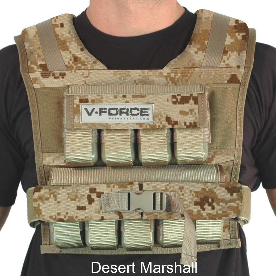 Check out this 45lb VForce Weight Vest! Hand made in