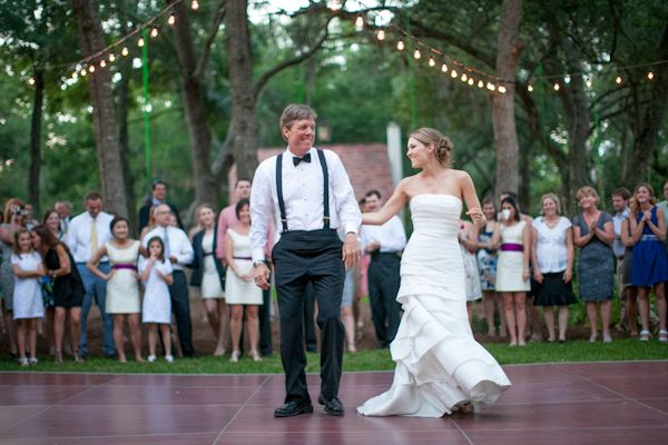 love this shot of the bride and her father | Hunter McRae #wedding