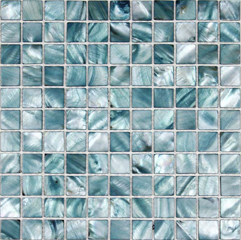 Wholesale Shell Tile Mosaic Mirror Wall stickers Mother of Pearl ...