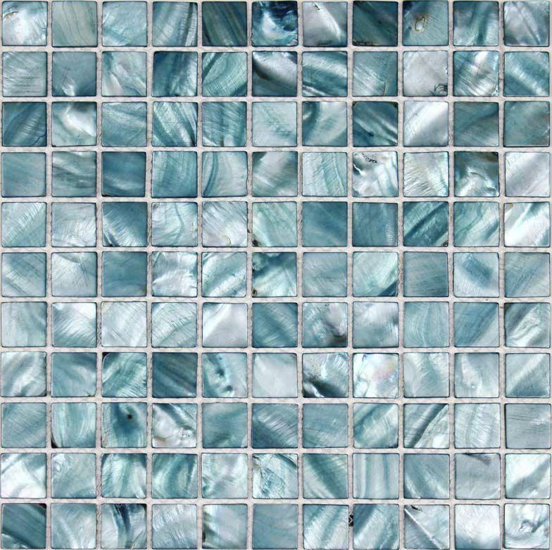 Wholesale Shell Tile Mosaic Mirror Wall stickers Mother of Pearl Tiles  Backsplash Kitchen design Seashell Bathroom