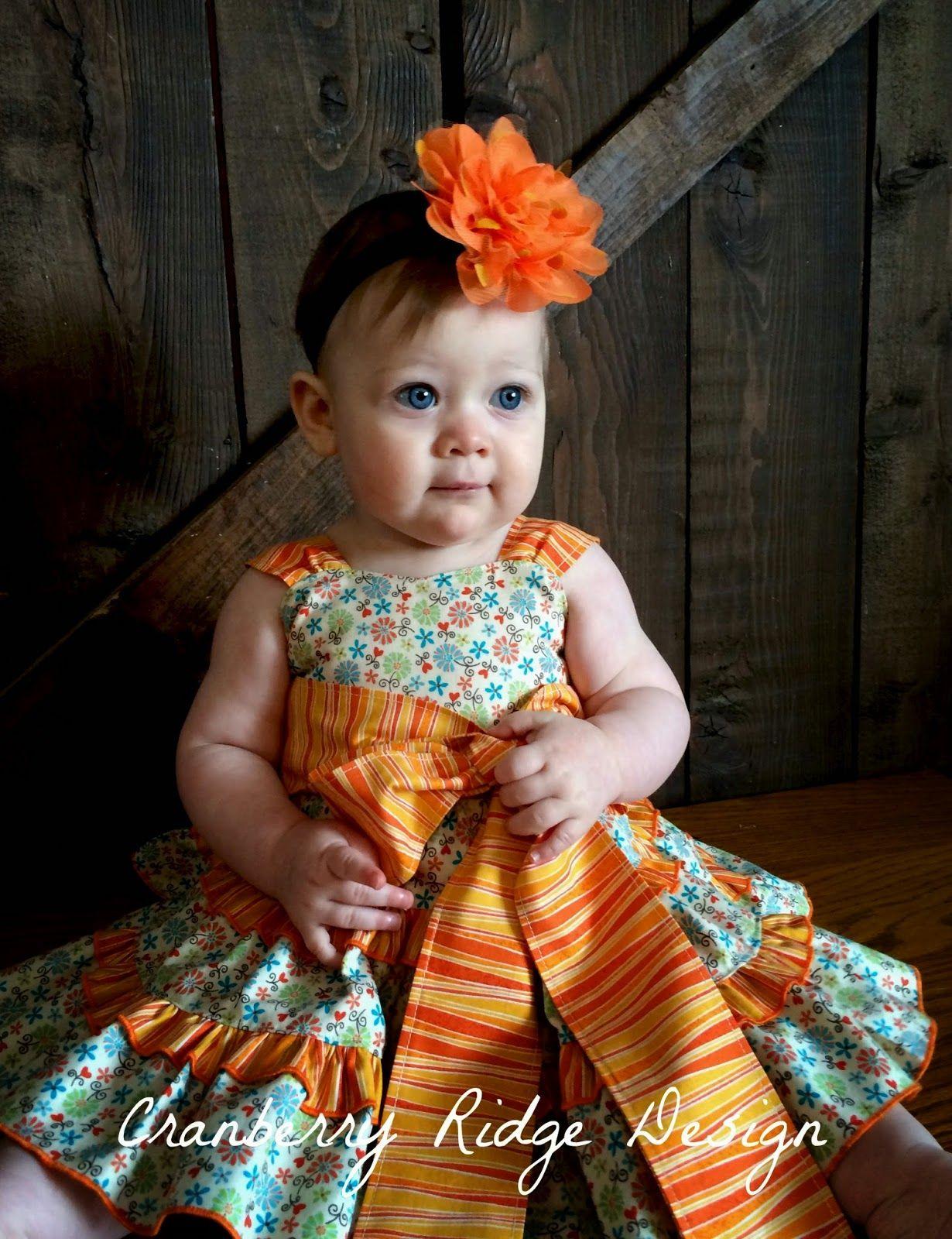 Cranberry Ridge Design: Create Kids Couture Release Mindy Pattern!