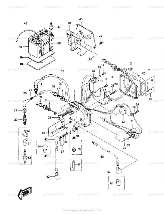 17+ 1997 Kawasaki 900 Triple Jet Ski Engine Wiring Diagram