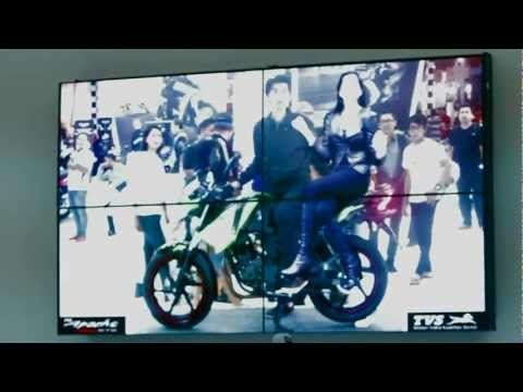Augmented reality used to drive engagement on Facebook - Indian Two-wheeler brand TVS act in Indonesia