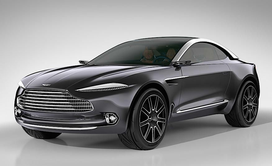 aston martin unveils DBX SUV with layers upon layers of