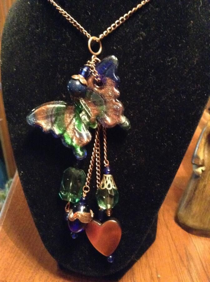 Butterflies - Jewelry creation by Martha Brownell