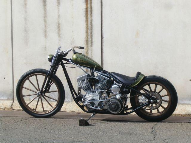 "Custom Harley-Davidson ""Panhead"" rigid chopper by Katie\'s Tokyo ..."
