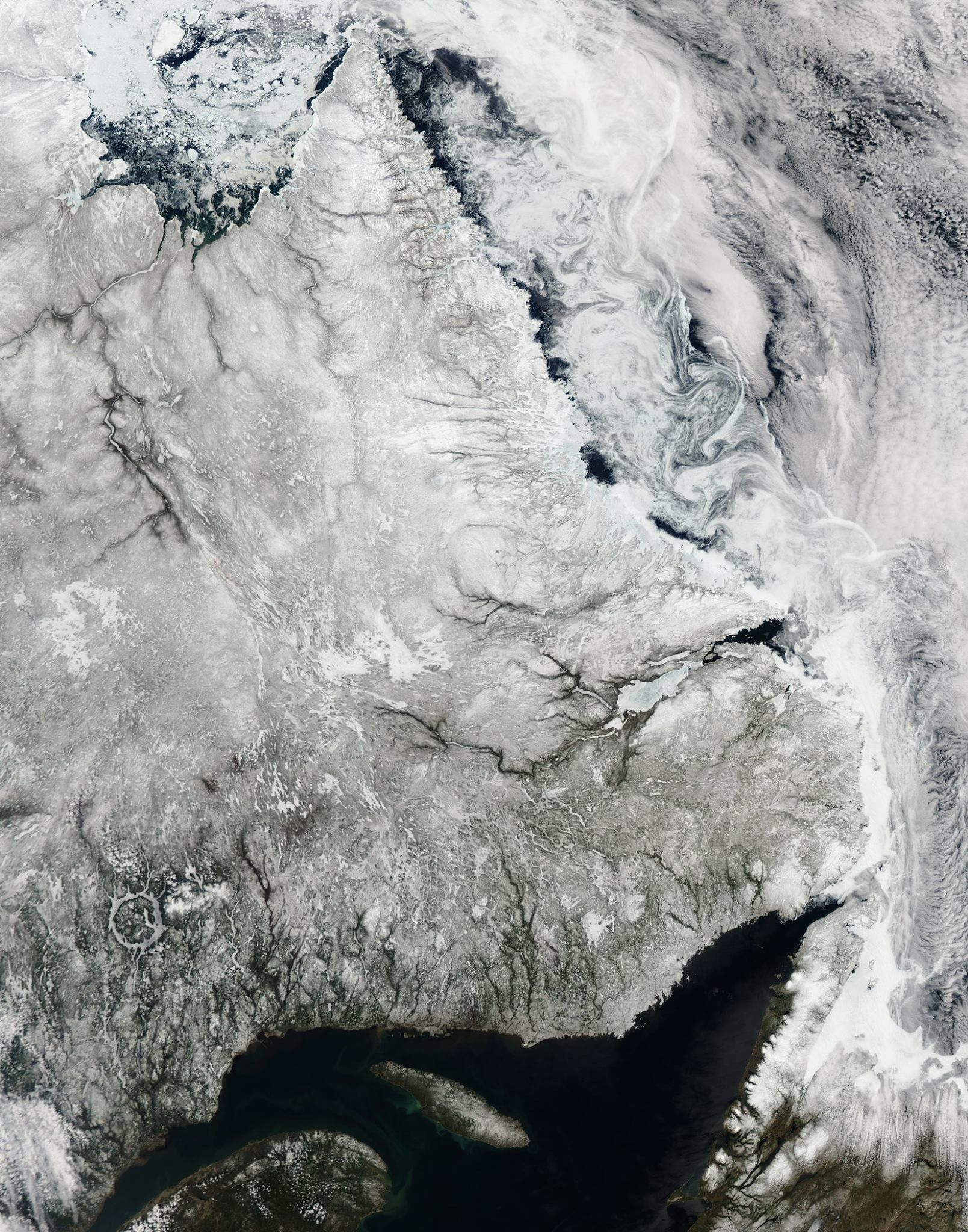Pin by Joshua Diebel on Space Earth, Sea ice, Satellite