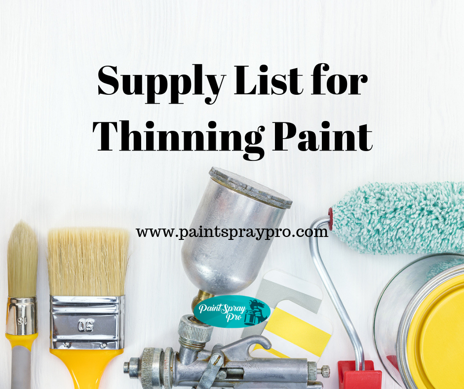 How To Use Paint Thinner Best Paint Sprayer Paint Drying Paint Thinner