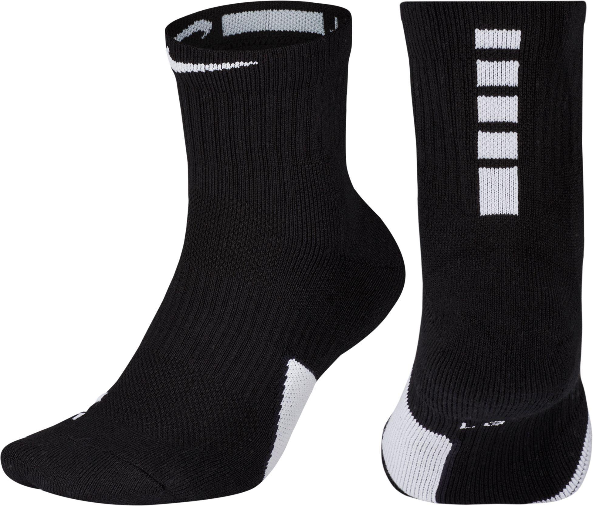 Nike Elite Basketball Mid Socks Women S Size Small Black Nike Basketball Socks Nike Jazz Shoes
