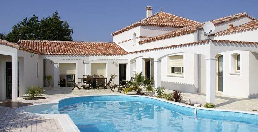 exterieur maison mediterraneenne - Recherche Google Déco Pinterest - Combien Coute Une Extension De Maison