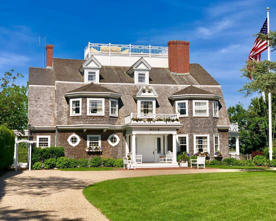 """Nantucket Fine Living on Instagram """"Cliff Road curb"""
