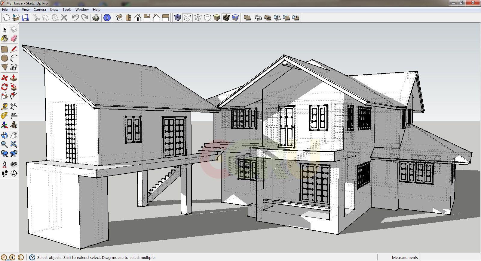 3d Modeling With Sketchup Make Trimble Layout Architecture