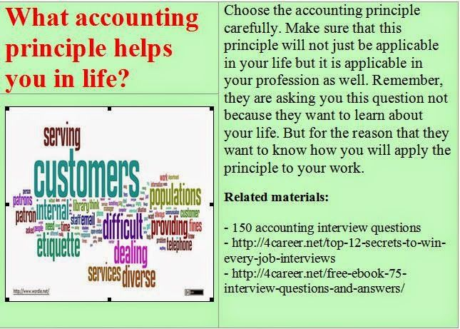 What accounting principle helps you in life? | Accounting ...